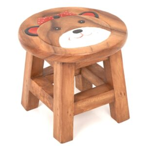 Childs Girl Teddy Stool