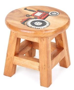 Childs Stool - Tractor