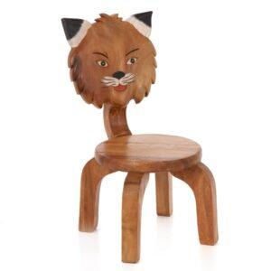 Wooden Fox Chair
