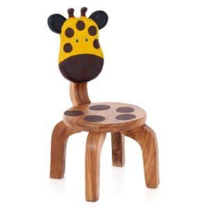 Kids Wooden Giraffe Chair