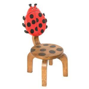 Wooden Ladybird Chair