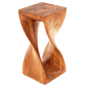 Square Twisted Infinity Stool - Waxed