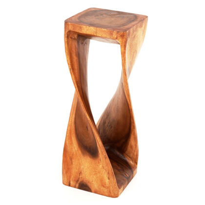 Square Twisted Infinity Stool - Waxed - 11 x 30