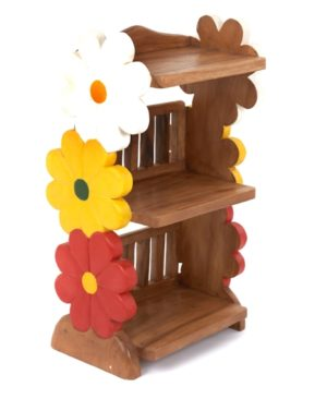 Childs Book Shelf - Flower