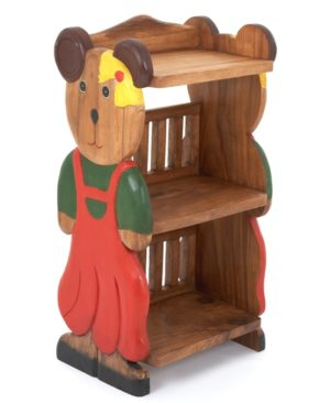 Childs Book Shelf - Girl Ted
