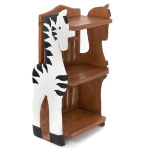 Childs Book Shelf - Zebra