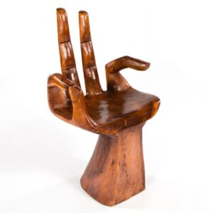 Hand Chair - 2 Finger Support - Dark
