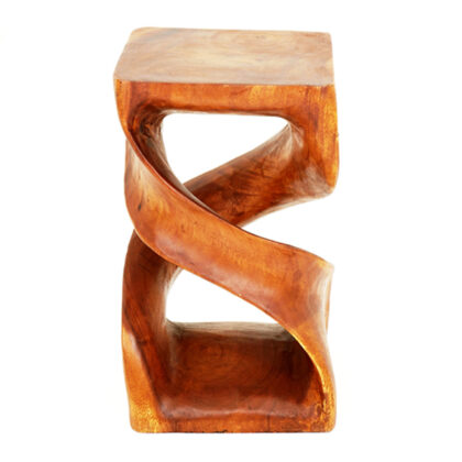 Double Twisted Infinity Stool - Honey - L