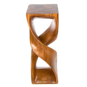 Double Twisted Infinity Stool - Honey - XL