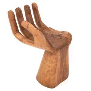Hand Chair - 4 Bent Fingers - Light