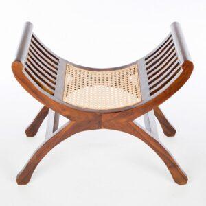 Single Yuyu Chair - Dark Rattan
