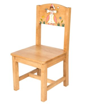 Chair with Fairy and Flower