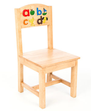 Chair with Alphabet