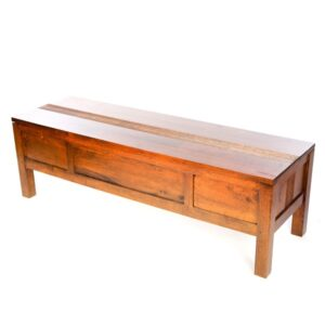 Guinea Bed End Chest - Dark