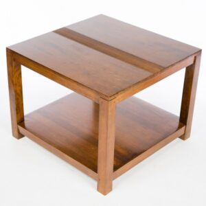 Guinea Low Coffee Table - Small - Dark Finish