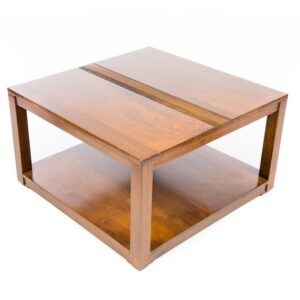 Guinea Low Coffee Table - Large - Dark Finish