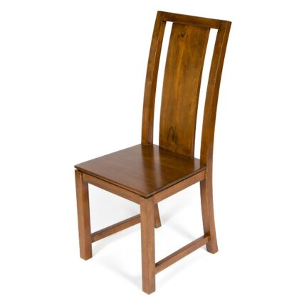 Accent Solid Back Dining Chair - Dark