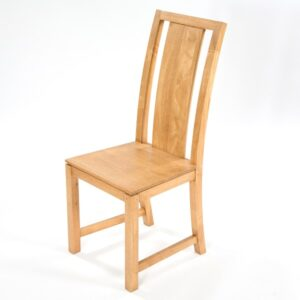 Accent Solid Back Dining Chair - Light