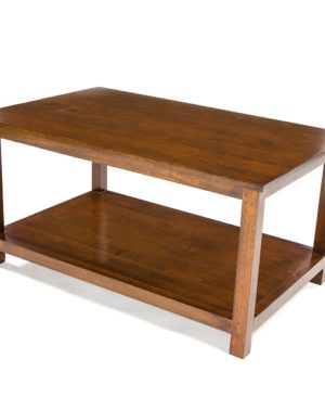 Accent Low Coffee Table - Dark Finish