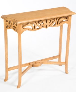 Accent Mini Console Table - Light Finish
