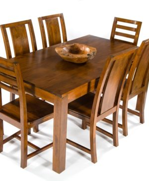 Accent Dining Table 160cm - Dark