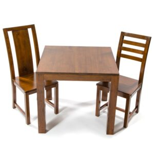 Accent Dining Table 85cm - Dark