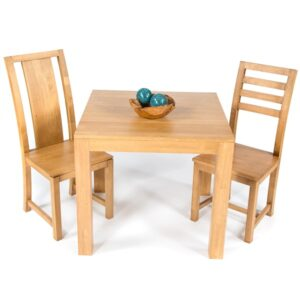 Accent Dining Table 85cm - Light