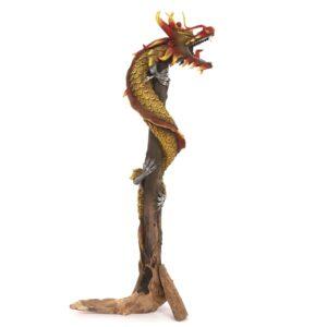 Dragon on wood - 20 inch