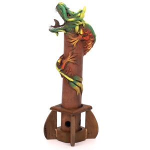 Standing Smoking Dragon Insence Burner