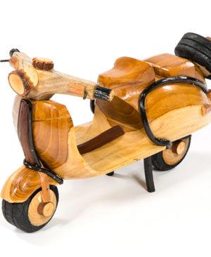 Handmade Rattan Vespa Scooter - Large