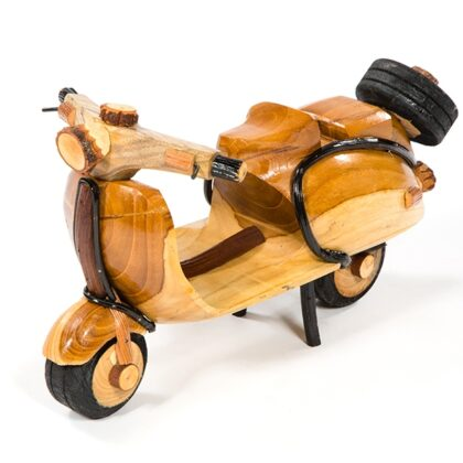 Handmade Rattan Vespa Scooter - Large