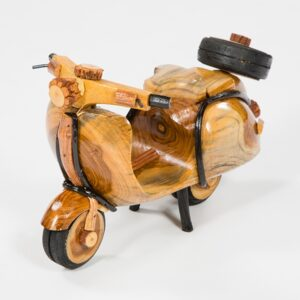 Medium Handmade Rattan Vespa Scooter