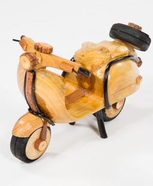 Handmade Rattan Vespa Scooter - Small