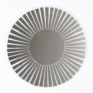 Striped Round Mosaic Mirror – 40cm