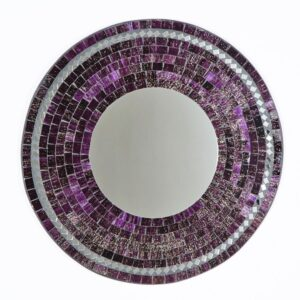 Mosaic Mirror - Purple
