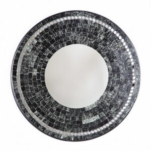 Mosaic Mirror - Black