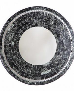 Mosaic Mirror - Black