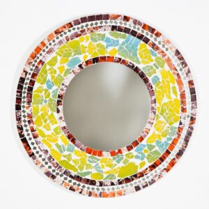 Mosaic Mirror – Multi-coloured