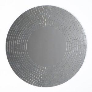 Mosaic Mirror - Silver - 60cm