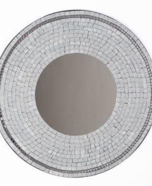 Mosaic Mirror - Grey - 60cm