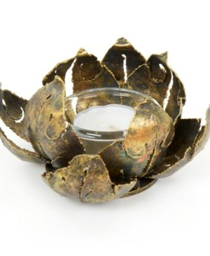 Small Lotus Candle Holder