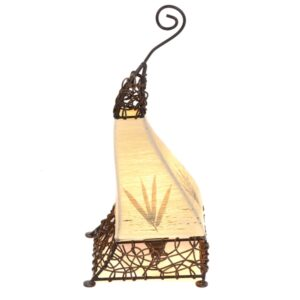 Aladdin Cotton Flower Table Lamp - 50cm