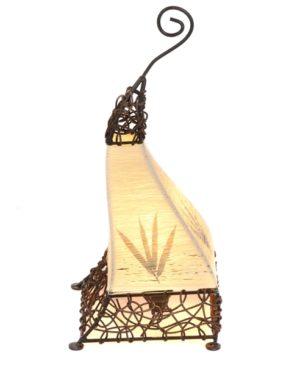 Aladdin Cotton Flower Table Lamp - 50cm