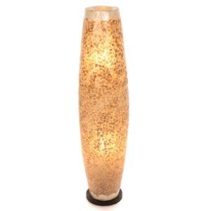 Oval Eggshell Floor Lamp - 100cm