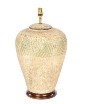 Terracotta Lamp - Natural - 57cm