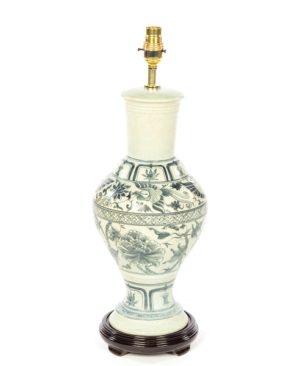 Terracotta Lamp - Cream - 52cm