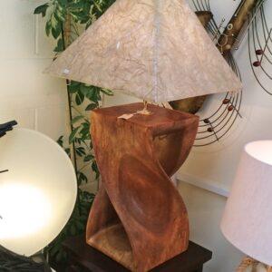 Twisted Infinity Stool Lamp