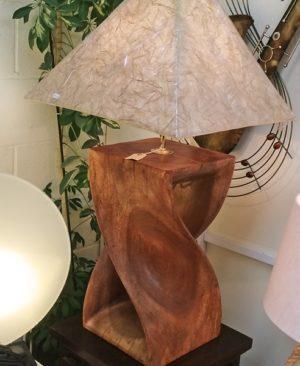 Twisted Stool Lamp