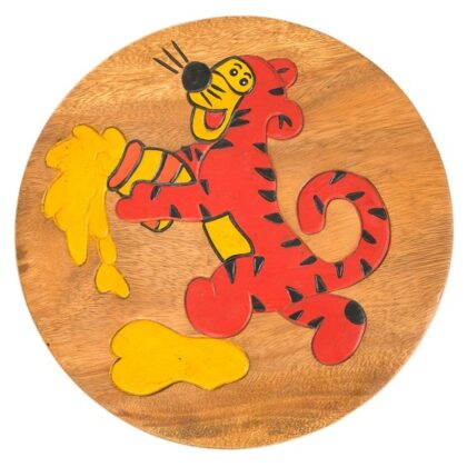 Childs Stool - Tiger