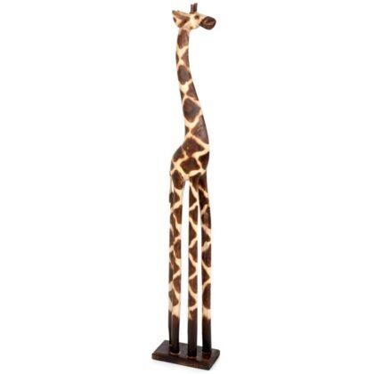 Wooden Standing Giraffe - 1 Meter